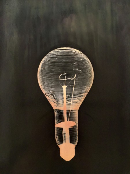 Large Incandescent Bulb, Pink Version