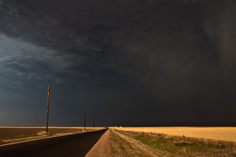The Darkness Over Wheatfields of Gurley, 18:33 CST, Gurley, NE