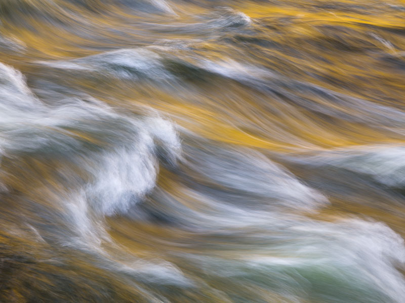 Evening Undulations, Merced River, Yosemite