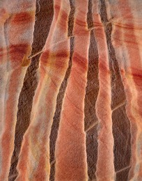 Sandstone Ridges, Parallel Patterns, Colorado Plateau