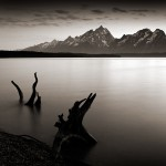 Nightfall, Jackson Lake, Teton Nat'l Park, WY