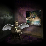 Winged Man in a Room