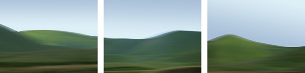 California 04-13-2010 (Triptych)