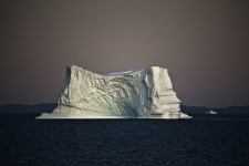 Iceberg in the Evening, Greenland