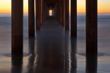 Twilight at Scripps Pier, La Jolla