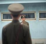 Soldiers, Demiliterized Zone, N. Korea
