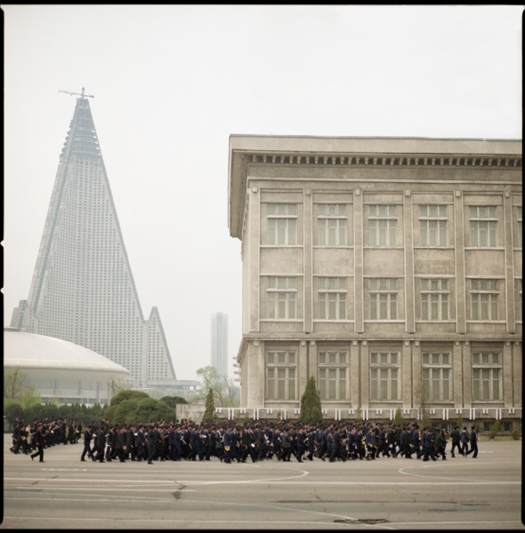Unfinished Ryugyong Hotel, Pyongyang, N. Korea