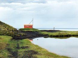 """Safe House"" for Shipwreck Victims, Sylsavarnefelag, Iceland"