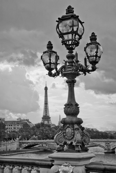 Eiffel Tower from Pont Alexandre