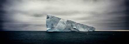 Giant Non Tabular Iceberg (Wedge), Weddell Sea
