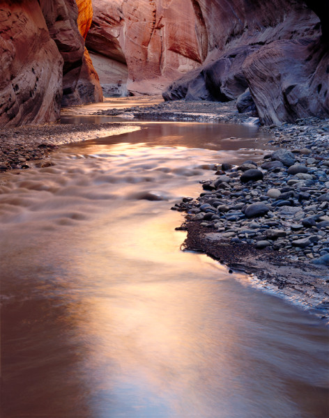 Reflections, Paria River, Vermillion Cliffs, Utah