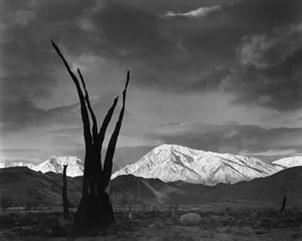 Sunrise, Mt. Tom, Sierra Nevada: Ansel Adams