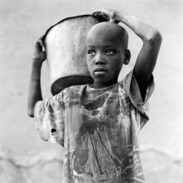 Boy with a Bucket, Djenne, Mali