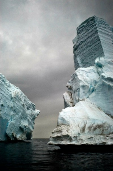 Stranded Iceberg Detail, Cape Bird (A)