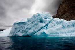Trapped Iceberg, East Greenland