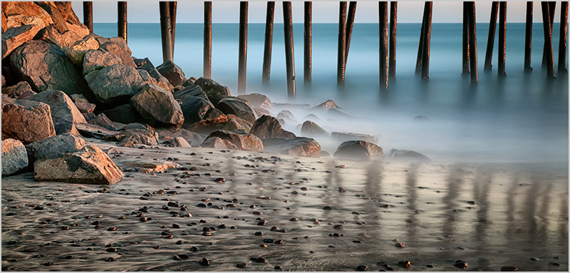 Oceanside Pier, Shore