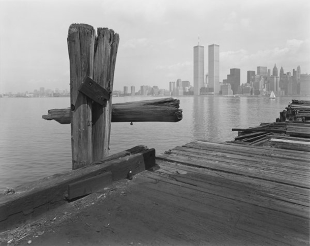 Hudson River Pier, NJ: George Tice