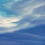 Azure Morning Clouds