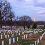 Arlington National Cemetery and Washington Monument