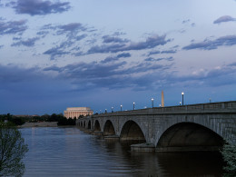 Memorial Bridge at Sunset