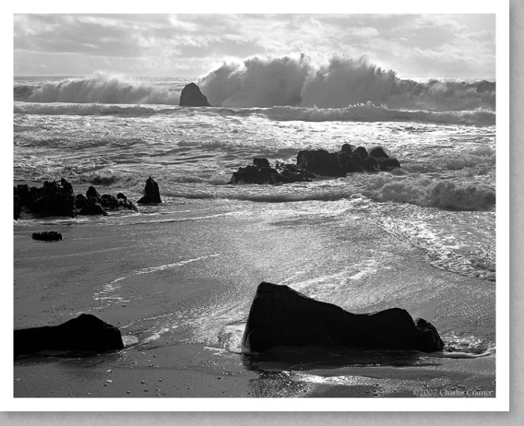 Breaking Waves, Garapata Beach