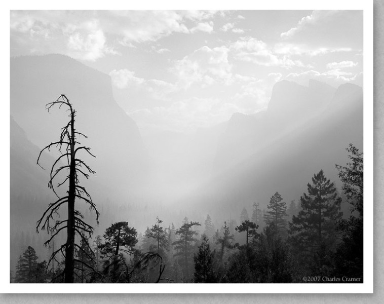 Morning Mist, Valley View, Yosemite