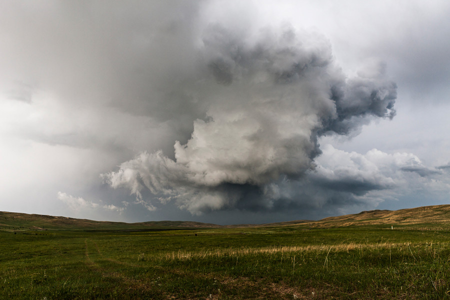 Demise of a Supercell, Whitman, NE