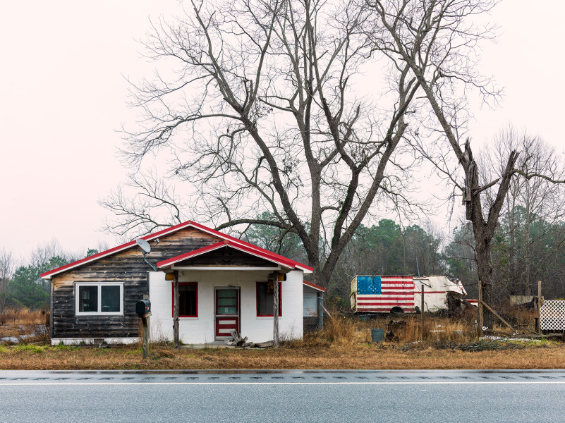 Flag House, Seale, Alabama