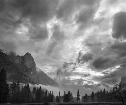 Clearing Storm & Mist, Sentinel Rock, Yosemite