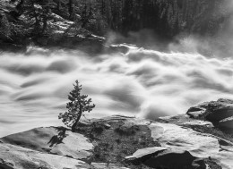 Tuolumne River, Spring Flood, Glen Aulin, Yosemite