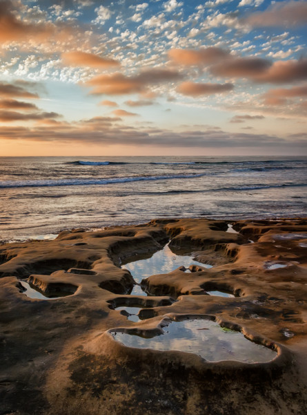 La Jolla Tide Pools and Sunset