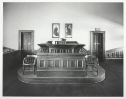 Judge's Bench, Old Cochise County Courthouse, Tombstone, AZ