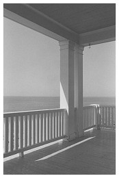 Porch, Monhegan Island, Maine: George Tice