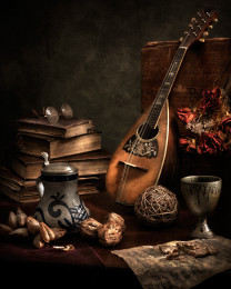 Still LIfe With Mandolin #2
