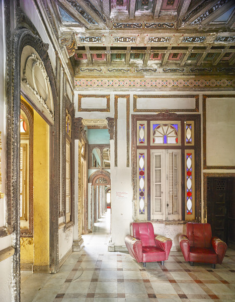 Havana Hall with Red Chairs (003)