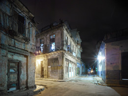 Old Havana Corner, Night