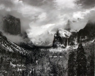 Clearing Winter Storm, Yosemite National Park