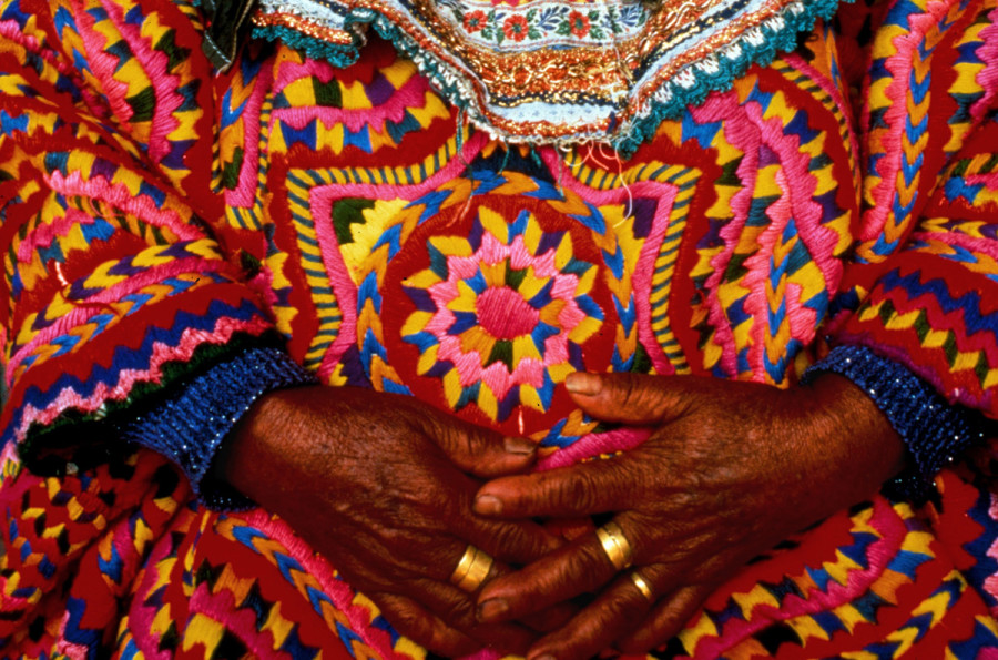 Embroiderer's Hands, Guatemala