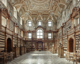 Library, Naples, Italy