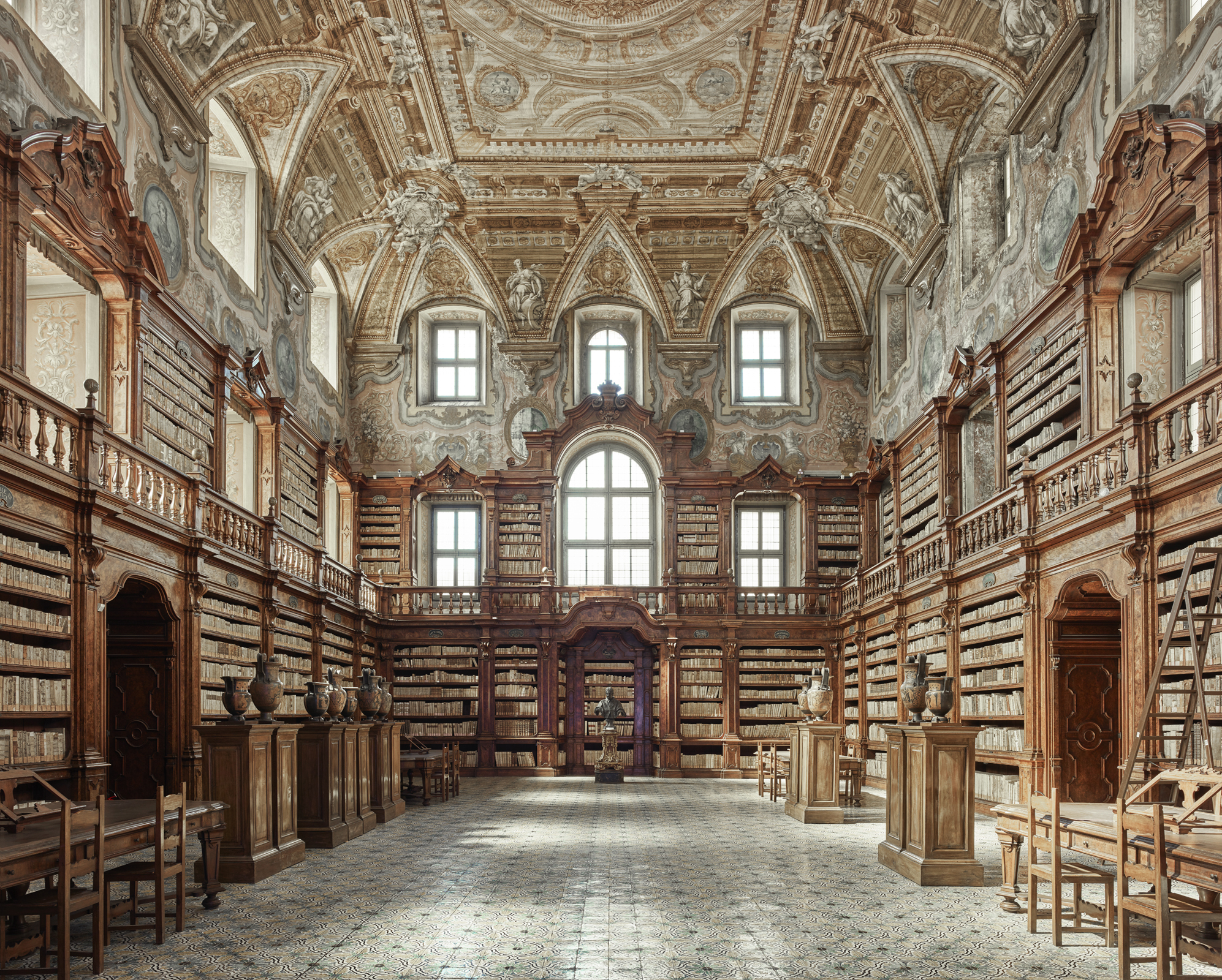 Library Naples Italy By David Burdeny Susan Spiritus