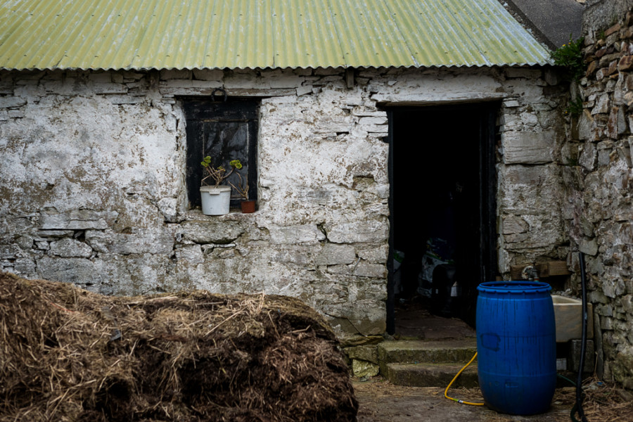 Classic Irish Farm Shed