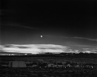 Moonrise, Hernandez, New Mexico: Ansel Adams