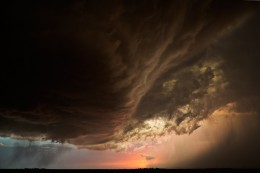The Base at Sunset, 20:19CST, Chappell, NE, June 22, 2012