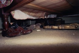 Untitled, Shoes Under Bed: William Eggleston