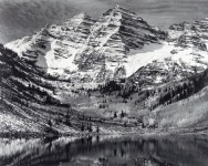 Maroon Bells near Aspen, Colorado (No Longer Available)