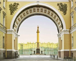 Palace Square, St. Petersburg , Russia