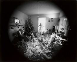 Edith, Christmas Morning, Danville, Virginia: Emmet Gowin