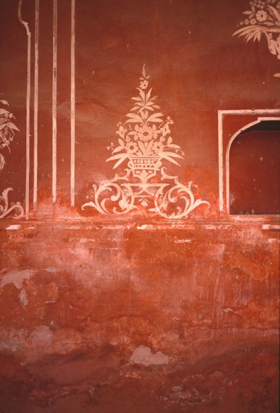 Fresco, Red Fort