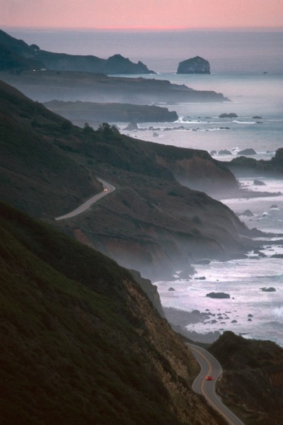 Big Sur Highway, Sunrise