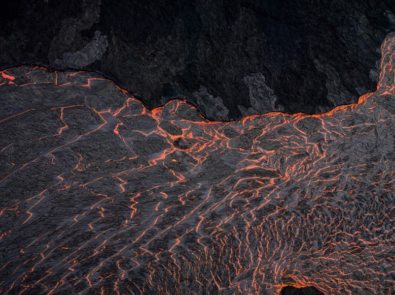 Lava River 2, Eruption